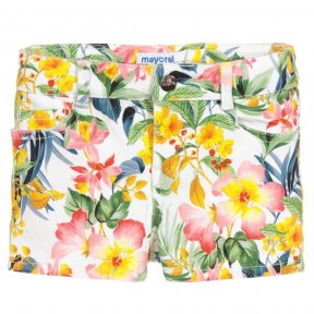 Mayoral floral print girls shorts SS19 3210