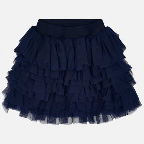 Mayoral girls navy ruffle skirt 3093 SS19