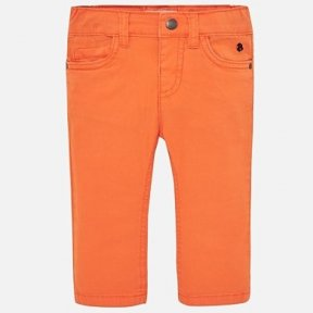Mayoral slim fit orange trousers, baby boy. SS19 506