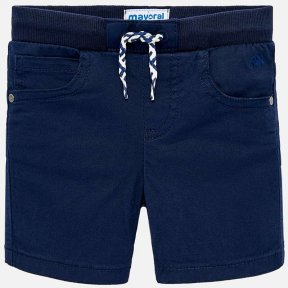 Mayoral Navy blue baby boys cotton drawstring Bermuda shorts SS19 1245