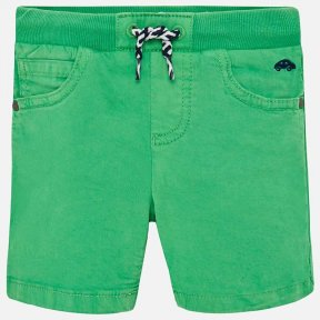 Mayoral baby boys green cotton drawstring shorts SS19 1245