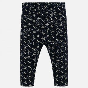 Mayoral navy bow baby girl legging 2739