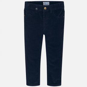 Mayoral navy boys corduroy trousers 537