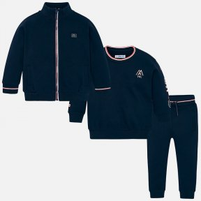 Mayoral navy blue boys 3 piece track suit 4805