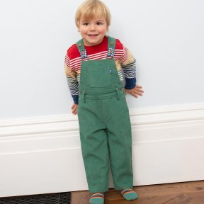 Kite 100% Organic Cotton Green Dungarees TB0435