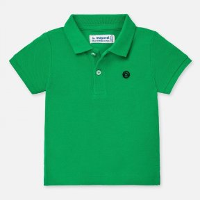 Mayoral boys green polo shirt SS20 102