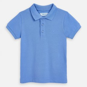 Mayoral boys polo shirt sky blue SS20 150