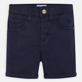 Mayoral boys twill navy shorts SS20 204
