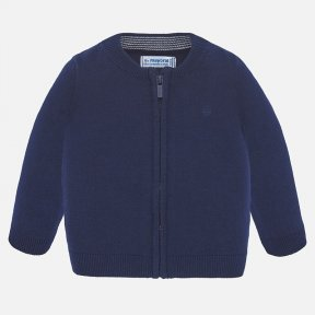 Mayoral navy blue boys zip up cardigan SS20 305
