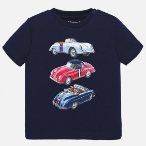 Mayoral navy boys car t-shirt SS20 1039