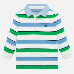 Mayoral boys striped long sleeved mint top SS20 1155