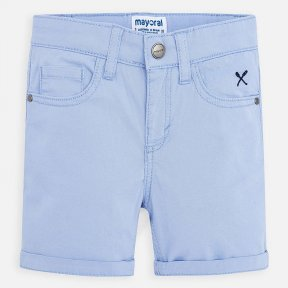 Mayoral boys blue shorts,  adjustable waistband, button fastening   206