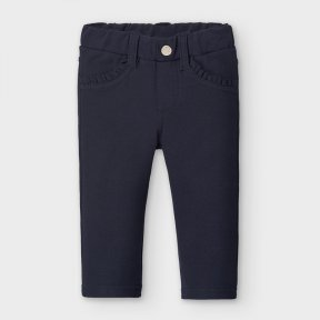 Mayoral baby girl navy trousers. A/W2021 560