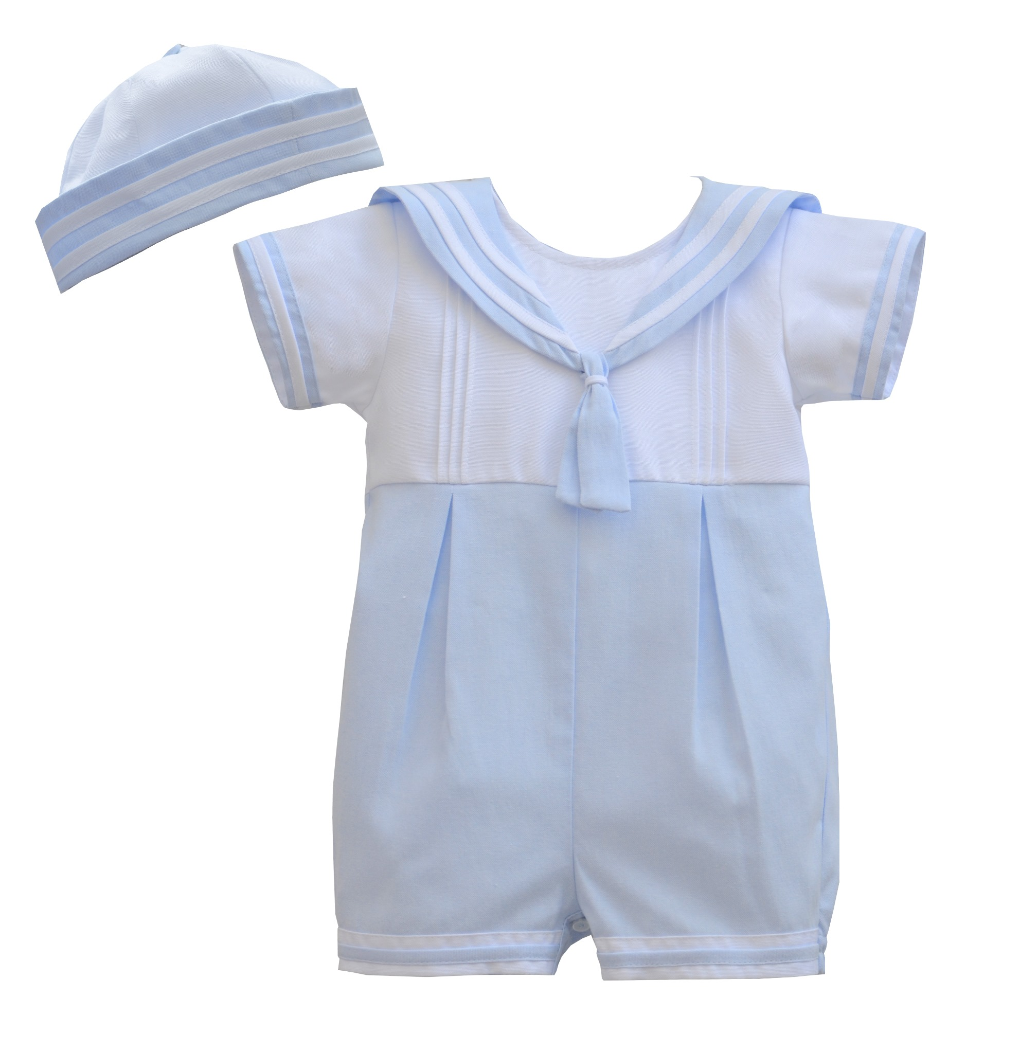 b49809011 An adorable nautical shortie set for baby boys by Pretty Originals, made  from lightweight cotton